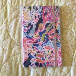 Lilly pulitzer Journal notebook in gypsea fansea